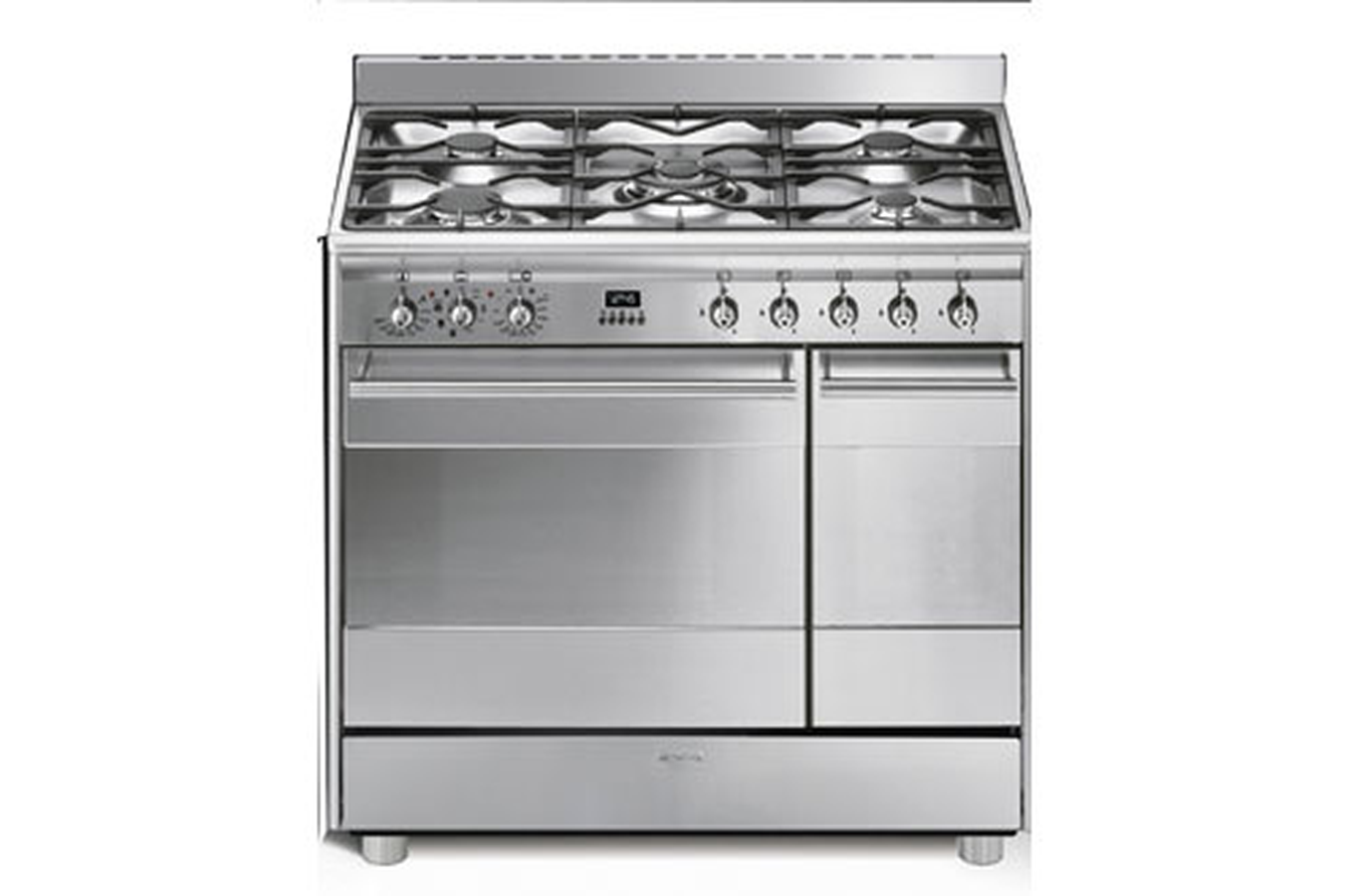 Piano de cuisson smeg scb92mx8 inox 3415376 darty - Piano cuisine induction ...