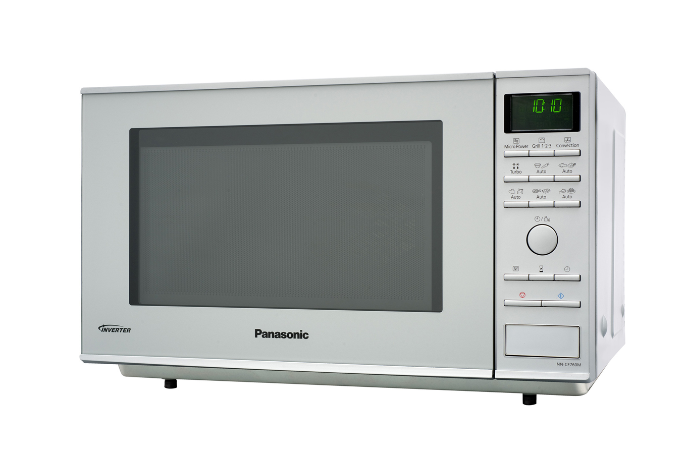 micro ondes combin panasonic nn cf760mepg silver 3607747 darty. Black Bedroom Furniture Sets. Home Design Ideas