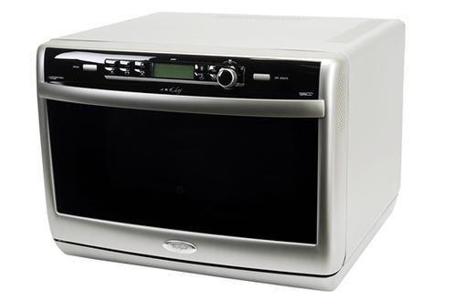 avis clients pour le produit micro ondes combin whirlpool jt 367 argent. Black Bedroom Furniture Sets. Home Design Ideas