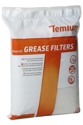 Filtre de hotte anti graisse Temium PACK FILTRES ANTI-GRAISSE UNIVERSELS