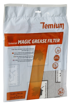 Filtre de hotte anti graisse PACK FILTRES MAGIC UNIVERSELS Temium