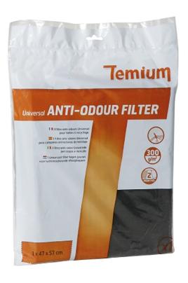 Filtre de hotte anti odeurs Temium FILTRE ANTI-ODEURS UNIVERSEL