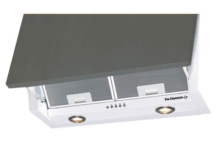 hotte escamotable de dietrich hw 4646 e1 blanc hw4646e1 darty. Black Bedroom Furniture Sets. Home Design Ideas