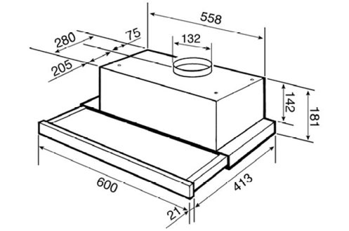 Smeg KSET61 EFFET INOX