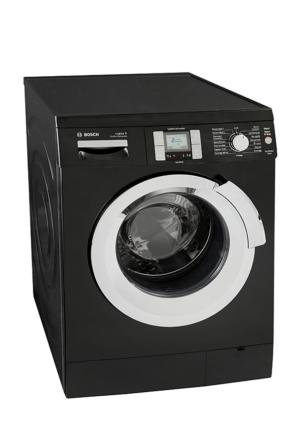 lave linge hublot bosch was327b0ff noir 3431827 darty