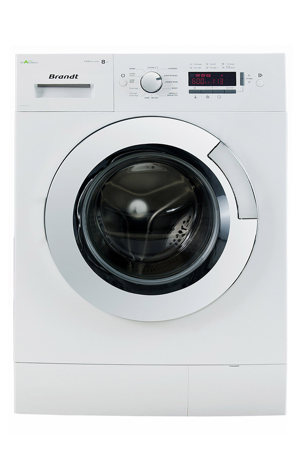 Lave linge hublot brandt bwf48tcw 4130600 darty - Dimension standard machine a laver hublot ...