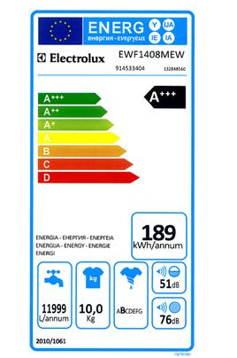 Electrolux EWF1408MEW