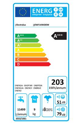 Electrolux EWF1494DOW