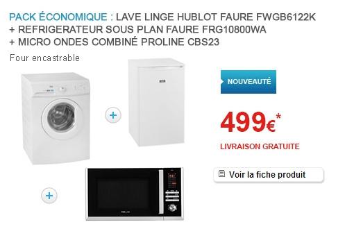 Faure FWGB6122K/FRG10800WA/CBS23