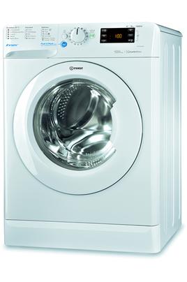 Capacité 9 kg (tambour 62 L) - Classe A+++ Essorage variable jusqu'à 1200 tours/min Départ différé de 0 à 24 heures Système Push&Wash - 5 Programmes quotidien