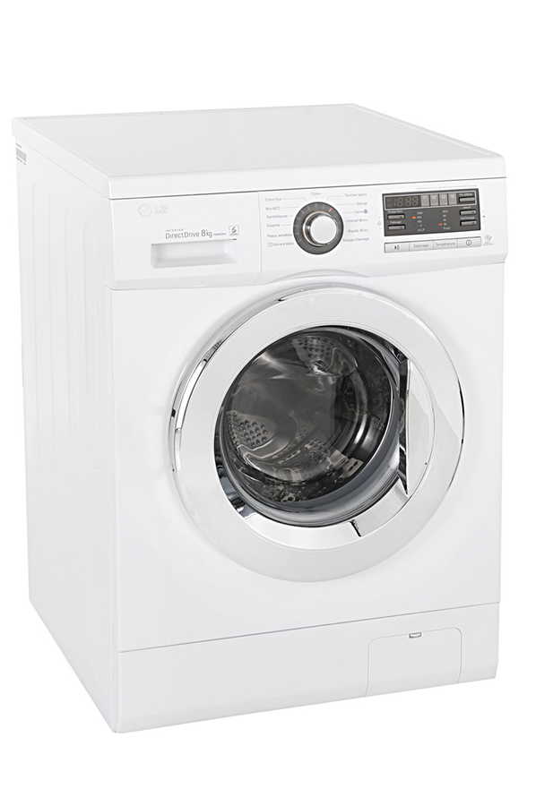 lave linge hublot lg f82892wh 6 motion direct drive. Black Bedroom Furniture Sets. Home Design Ideas