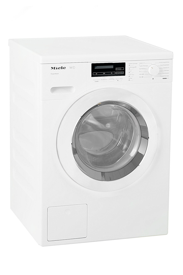 lave linge hublot miele wkf 120 blanc 3845400 darty. Black Bedroom Furniture Sets. Home Design Ideas