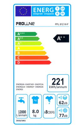 Proline PFL 812 W-F
