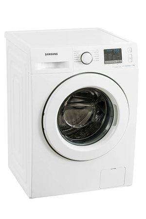 lave linge hublot samsung wf70f5e0w4w eco bubble blanc 4005724 darty. Black Bedroom Furniture Sets. Home Design Ideas