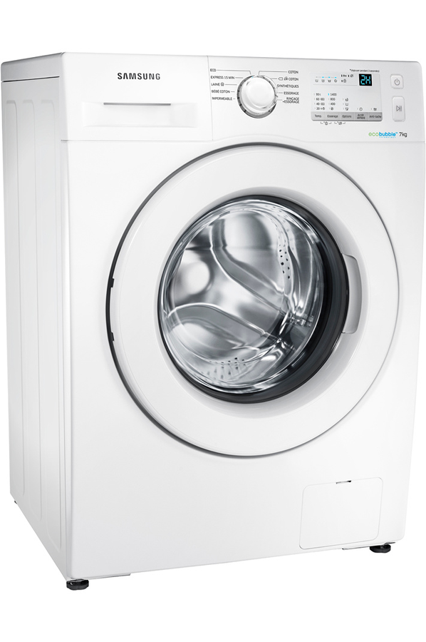 lave linge hublot samsung ww70j3467kw eco bubble. Black Bedroom Furniture Sets. Home Design Ideas