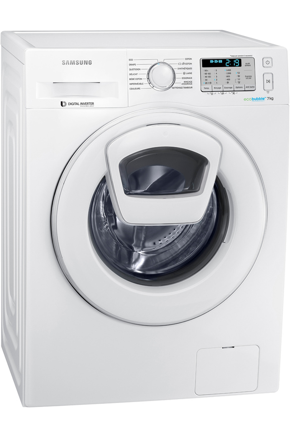 lave linge samsung wf1124xac how to video lave linge samsung eco bubble application lave linge. Black Bedroom Furniture Sets. Home Design Ideas