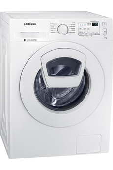 Lave linge hublot WW80K4437YW ADD WASH Samsung