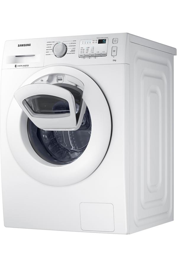 samsung ww90k4437yw add wash lave linge electrom nager. Black Bedroom Furniture Sets. Home Design Ideas