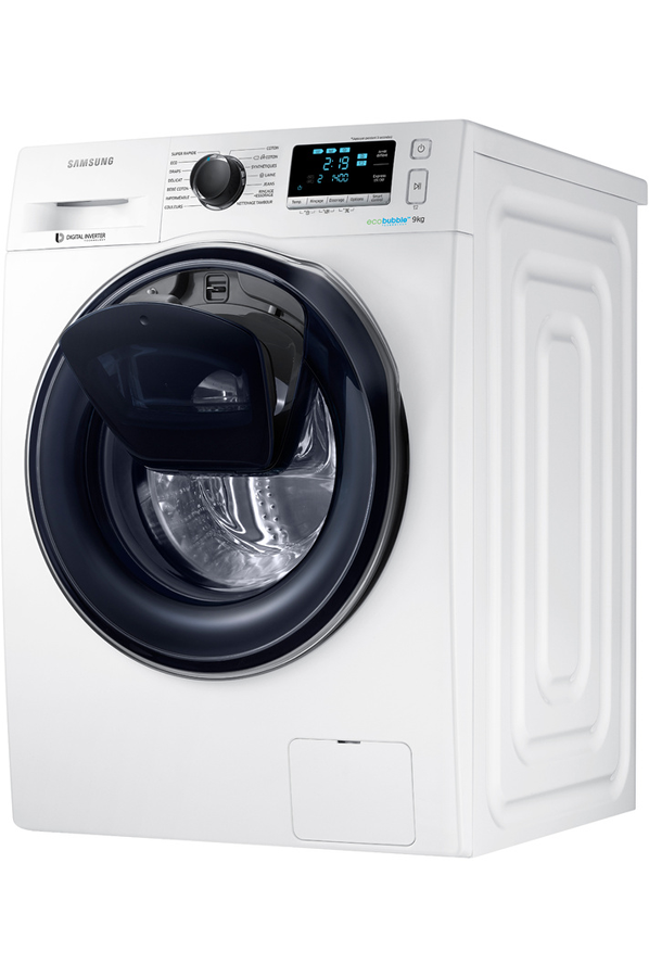 samsung ww90k6414qw add wash lave linge electrom nager. Black Bedroom Furniture Sets. Home Design Ideas