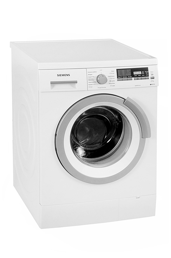 lave linge hublot siemens iq 700 wm14s485ff blanc 3732460. Black Bedroom Furniture Sets. Home Design Ideas