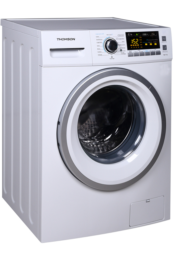 Lave linge hublot thomson tw 712 4215478 darty - Comment superposer machine a laver et seche linge ...