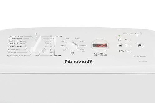 Brandt BWT2DT63 BLANC
