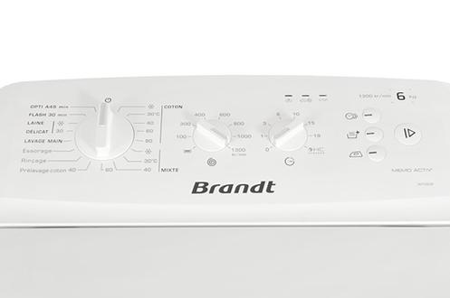 Brandt WTC63F BLANC
