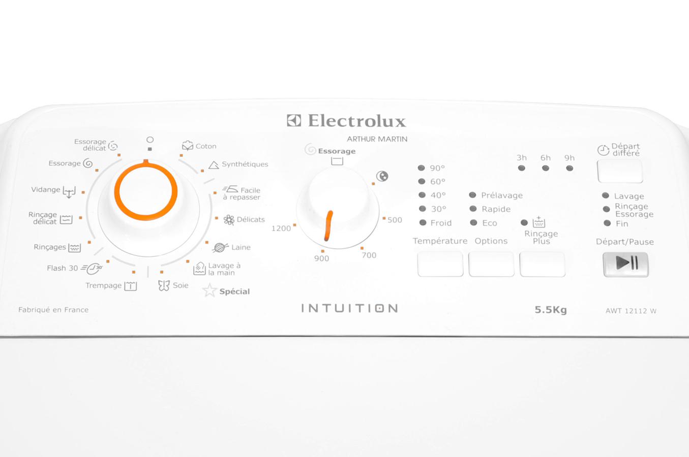 machine a laver electrolux intuition mode d emploi. Black Bedroom Furniture Sets. Home Design Ideas