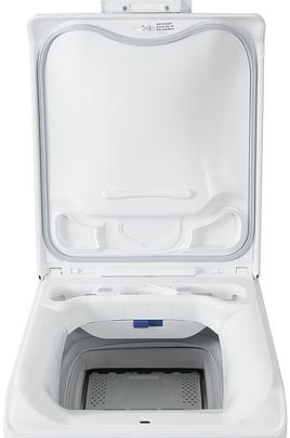 Lave linge ouverture dessus electrolux ewt1273asw blanc - Rangement dessus lave linge ...