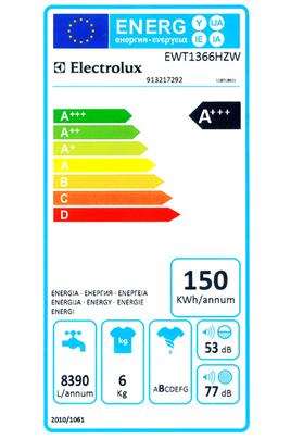 Electrolux EWT1366HZW