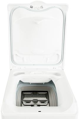 Lave linge ouverture dessus faure fwq6129 blanc 4020022 - Rangement dessus lave linge ...