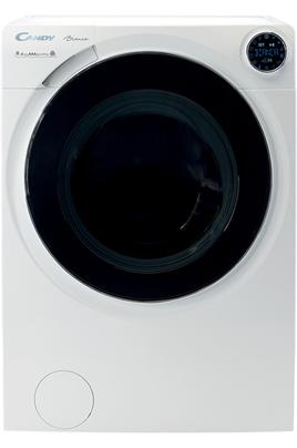 Capacité de lavage 9 kg / Séchage 6 kg Essorage variable jusqu'à 1500 tours/min Départ différé 24 heures / Affichage du temps restant Connectivité Bluetooth + WiFi - Assistant vocal Talking Bianca