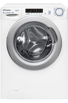 Capacité de lavage 8 kg / Séchage 5 kg Essorage variable jusqu'à 1400 tours/min Départ différé 24 heures / Affichage du temps restant Connectivité NFC - Programmes rapides : 14'/30'/44'