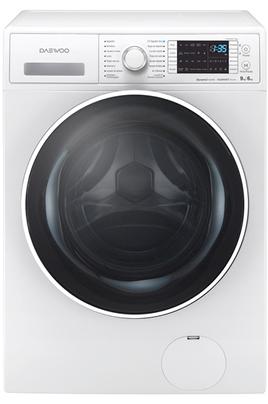 Capacité de lavage 9 kg / séchage 6 kg - Classe A Essorage max. 1400 tours/min Emerald Drum - Système NVC Moteur Dynamic Inverter