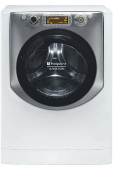 Lave linge hublot - Hotpoint - Lave Linge Séchant Hublot Aqd 1070 D69 Eu 10 Kg, 1600 T/min Séchage C