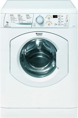 Capacité de lavage 7 kg, séchage 5 kg - Classe A Essorage max. 1400 tours/mn Départ différé 1 à 24 h (affichage du temps restant) 3 en 1 - Repassage facile