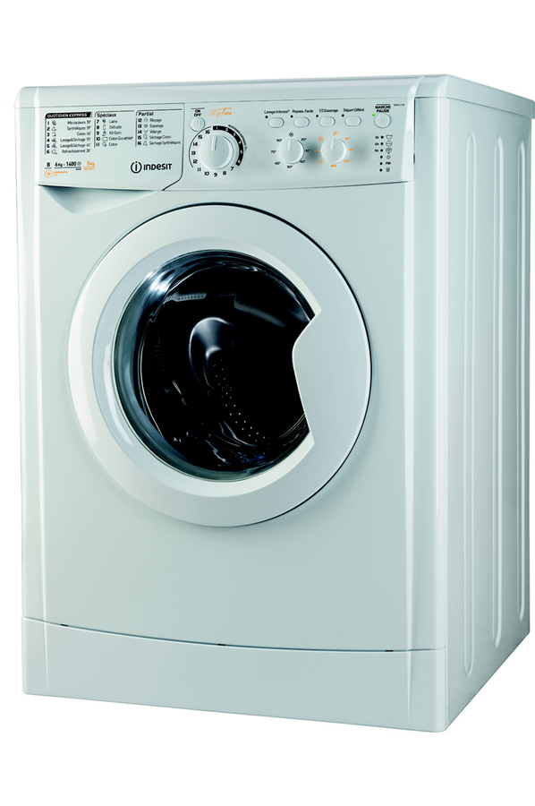 Lave Linge Sechant Indesit Ewdc 6145 W Fr 4134400 Darty