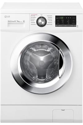 Capacité de lavage 8 kg / Séchage 5 kg - Classe A+ Essorage max. 1400 tours/min Fin différée / Affichage du temps restant TOP AMOVIBLE