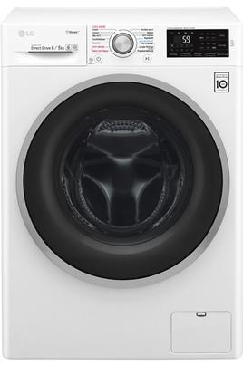Capacité de lavage 8 kg / Séchage 5 kg - Classe A Essorage max. 1400 tours/min Fin différée / Affichage du temps restant Technologie Spa Steam - Synchronisation via NFC