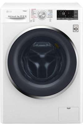 Capacité de lavage 9 kg / Séchage 6 kg - Classe A+ Essorage max. 1400 tours/min Fin différée / Affichage du temps restant Technologie Eco Hybrid - Synchronisation via WiFi