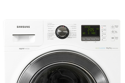 lave linge sechant samsung wd806u4sawq eco bubble. Black Bedroom Furniture Sets. Home Design Ideas