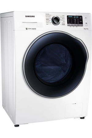 lave linge sechant samsung wd80j5430aw crystal care | darty