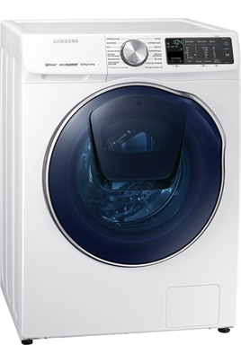 Capacité de lavage 8 kg / séchage 5 kg - Classe A Essorage max. 1400 tours/min Fin différée / Indication temps restant Technologie Eco Bubble / Add Wash / WIFI (SmartThings)