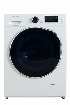 lave linge sechant samsung wd90j6410aw eco bubble darty. Black Bedroom Furniture Sets. Home Design Ideas