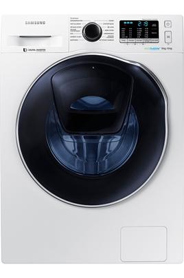 Capacité de lavage 9 kg / séchage 6 kg - Classe A Essorage max. 1400 tours/mn Hublot additionnel Add Wash Technologie Eco Bubble