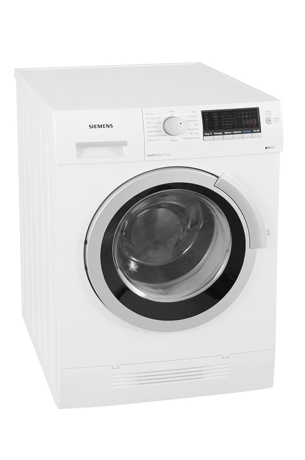 lave linge sechant siemens iq 500 wd14h461ff blanc 3651541 darty. Black Bedroom Furniture Sets. Home Design Ideas