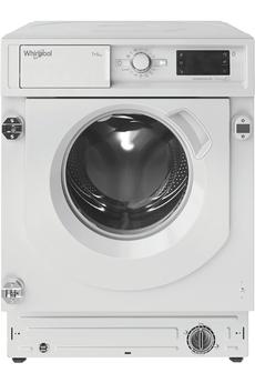 Lave linge séchant Whirlpool BIWDWG751482EUN