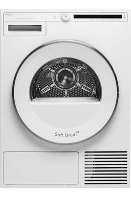 Séchage électronique par sonde Capacité 8 kg - Pompe à chaleur A++ Départ différé / Affichage du temps restant Construction robuste - Option demi-charge
