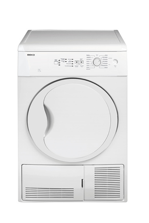 S che linge beko dc7230 darty for Temps sechage seche linge