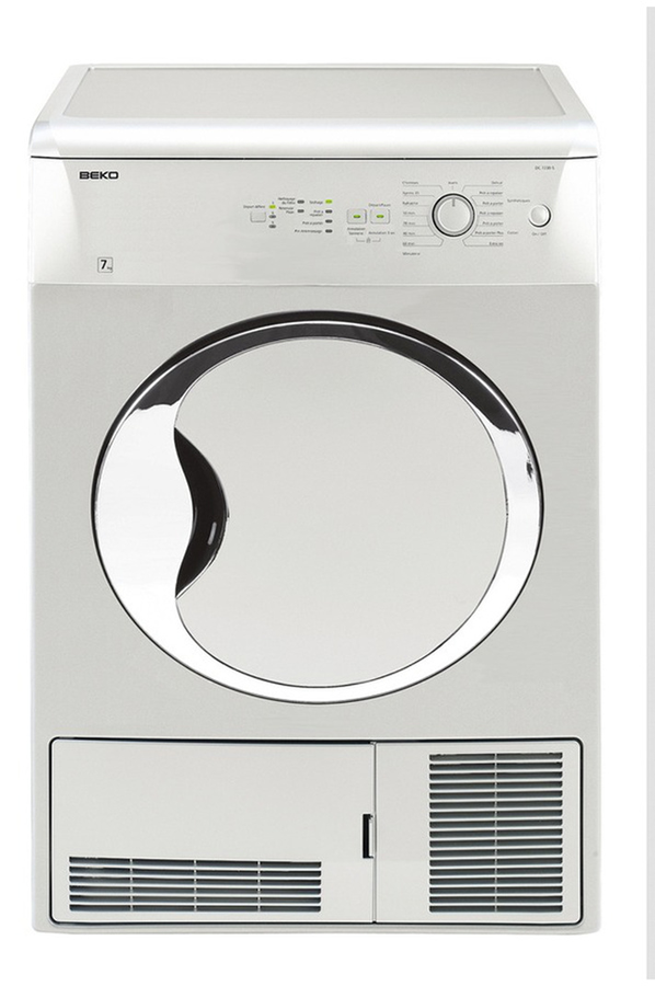 S che linge beko dc7230s 4069366 darty - Seche linge condensation darty ...